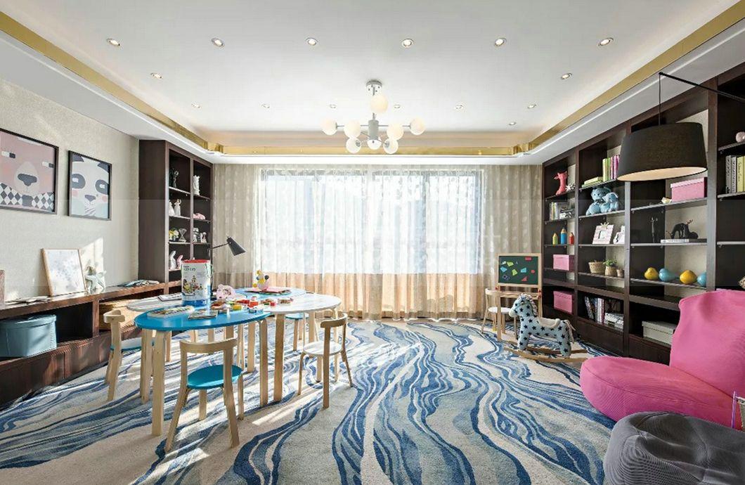 【图】上海碧桂园叠加别墅装修效果图新中式风格300