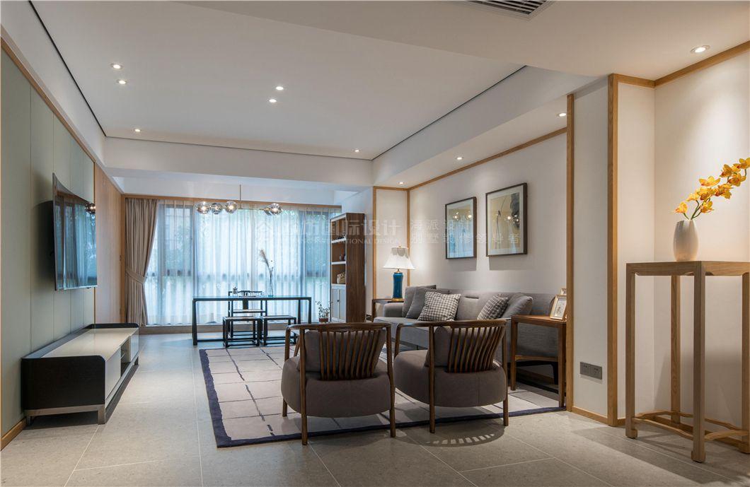 【图】上海名嘉新苑公寓复式装修效果图新中式风格128图片