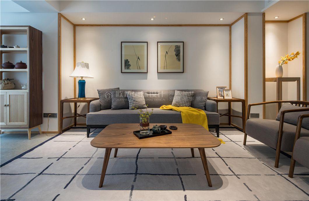 【图】上海名嘉新苑公寓复式装修效果图新中式风格128
